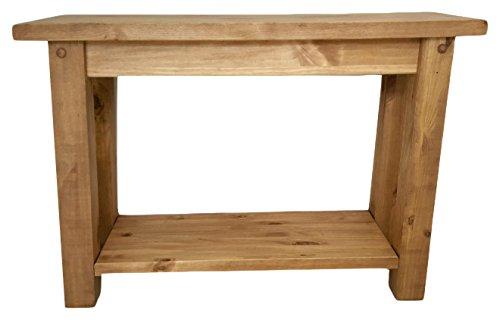 Mercers Furniture Tortilla Konsole, Holz, Kiefer antik