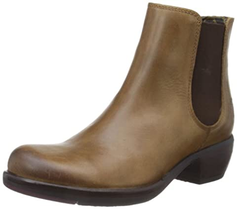 Fly London Make, Damen Chelsea Boots, Braun (Camel 000), 40 EU (7 Damen UK)