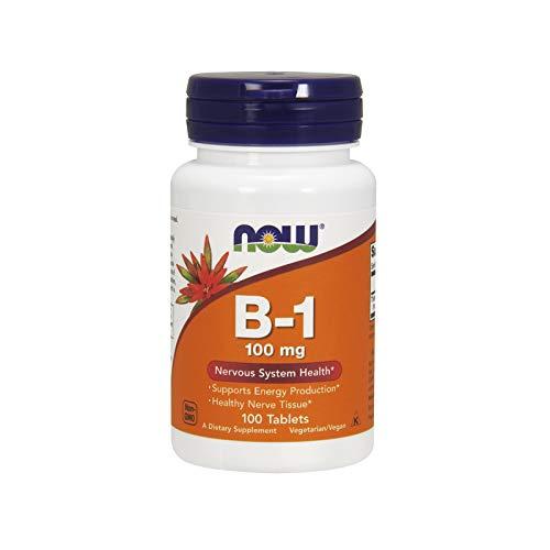 Now Foods B-1, 100 Tabs 100 mg