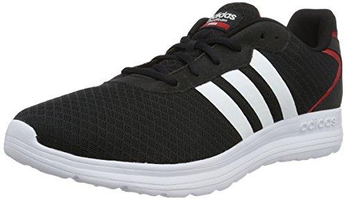 adidas Herren Cloudfoam Speed Turnschuhe, Weiß / Gelb (Maruni / Ftwbla / Amasol), Einheitsgröße Black (Negbas / Ftwbla / Rojpot)