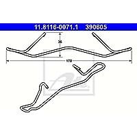ATE 11.8116-0310.1 Feder Bremssattel