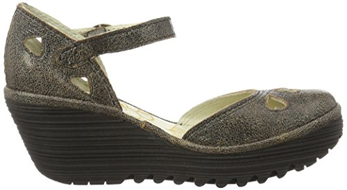 Fly London  Yuna, Escarpins femme Gris (Slate 134)
