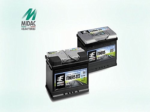 BATTERIA-BMWAUDIMECEDES-START-E-STOP-AGM-80AH-MIDAC-ITINERIS-IT-4