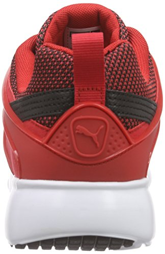 Puma Herren Aril Blaze Sneakers Schwarz (black-high risk red 06)