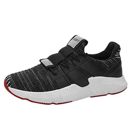 Baskets FantaisieZ Chaussures de Gym pour Hommes Fashion Broder Cross Strap Chaussures de Course à Pied Sneakers de Course Assorties de Couleur Assortie
