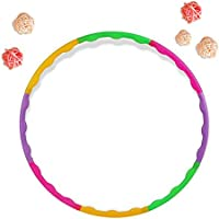 Bolange Niños coloridos Hula Hoop para niño Ejercicio Deportes Aerobics Fitness Gymnastic Ajustable 65cm