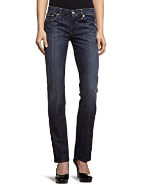 7 for all mankind Damen Straight Leg Jeans STSGTNNTD