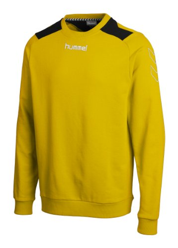 Hummel, Felpa Roots, Giallo (sports yellow / black), M