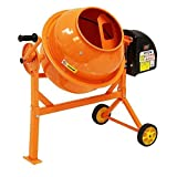Wido 63L Litre Portable Electric Cement Mixer Plaster Concrete