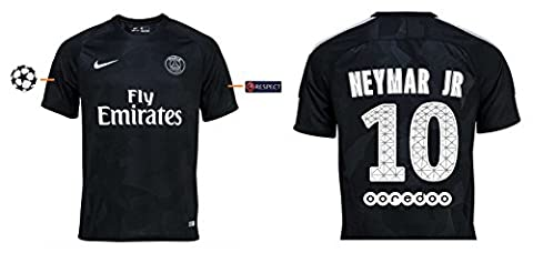 Trikot Herren Paris Saint-Germain 2017-2018 Third UCL - Neymar Jr 10 (M)