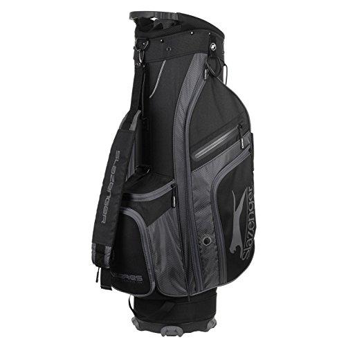 Slazenger V Series Lite Golf Cart Bag Schwarz/Grau Einheitsgröße -