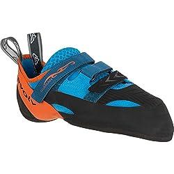 Evolv Shaman zapatos de escalada De Escalada Azul Naranja, Hombre, Color Azul y Naranja, tamaño 7,5 US / 40 EUR