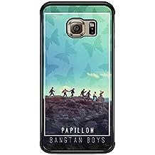 Bts Papillon Bangtan Boys Case / Color Negro Plastic / Device Samsung Galaxy S6 Edge