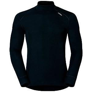 Odlo Herren Shirt Long Sleeve Turtle Neck Warm