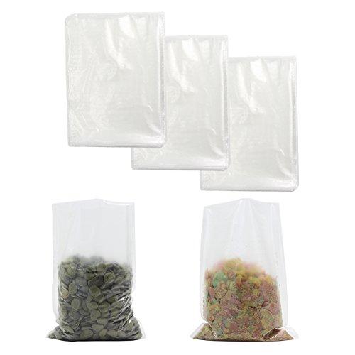 Croch 300 x PVA Beutel wasserlöslicheKöder Tüten für Karpfen Angeln 12 x 16cm - Wasserlösliche Beutel