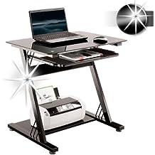 Computertisch glas schwarz  Suchergebnis auf Amazon.de für: Computertisch PC Tisch ...