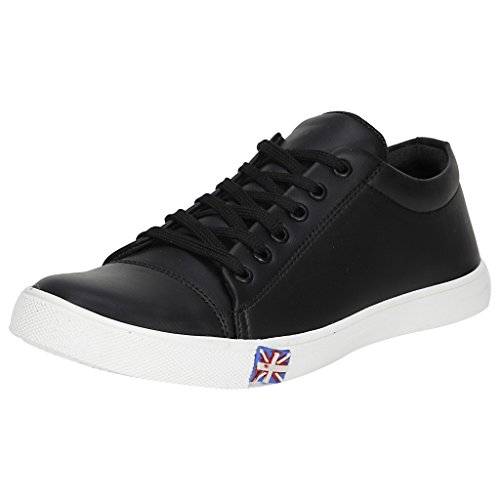 Kraasa Men's 725 Black Sneakers - Uk 8