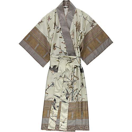 Bassetti Fong Kimono, Baumwolle, Beige, L-XL