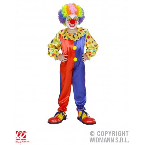Clown Costume for Circus Clowns And Fun Fairs Fancy Dress Up Outfits