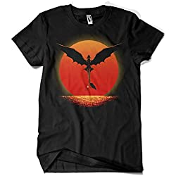 1426-Camiseta Dragon on Sunset (DDdjvigo)