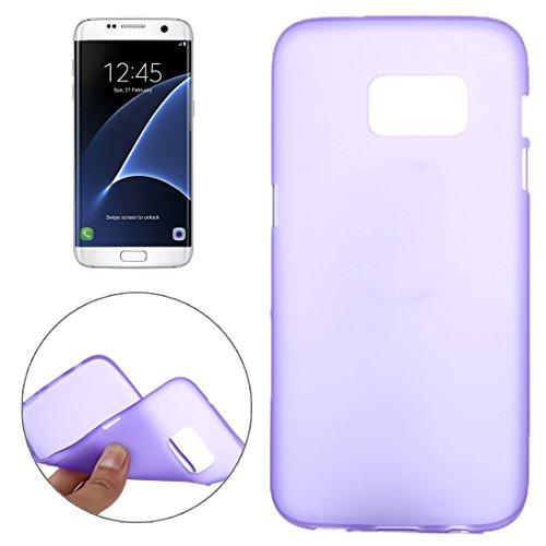 Tpu-fall 3 Samsung Tab (Schützen Sie Ihr Mobiltelefon Custer Textur Horizontale Flip Solid Farbe Leder Tasche mit Drei-Falten Halter für Lenovo TAB 2 A10-30 X30F, 10,1 Zoll für Samsung Handy ( Farbe : Violett ))
