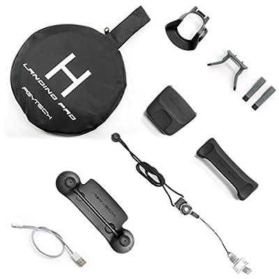 FOKOM Mavic Accessories,55cm Landing Pad/Rocker Protector/Len Hood/Apple USB Cable for DJI Mavic Pro