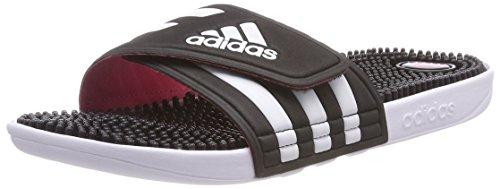 adidas Damen Adissage W Dusch-& Badeschuhe, Schwarz (Core Black/FTWR Wht/super Pink F15), 43 1/3 EU