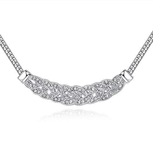 GYXYZB Tschechische Brokat Exquisite Walzer Halskette Weibliche Kurze Schlüsselbein Kette - Brokat-armband