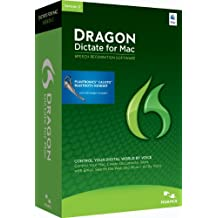Nuance Dragon Dictate for Mac 3.0, Wireless - Software de reconocimiento de voz (Wireless Dragon Dictate, 4096 MB, 2048 MB, Intel, ENG, Full)