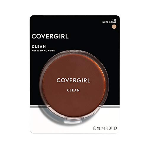 COVERGIRL - Clean Pressed Powder Buff Beige - 0.39 oz. (11 g) (Powder-cover-girl Pressed)