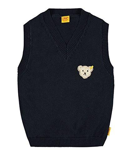 Steiff Collection Jungen, Pullover, Pullunder, Blau (marine 3032), 62