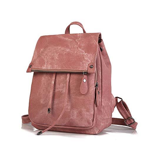 College-Stil Schultertasche Frauen 2018 Cross-Border Neuen Trend PU Lederhandtaschen Mode Solid Color Damentasche,Pink