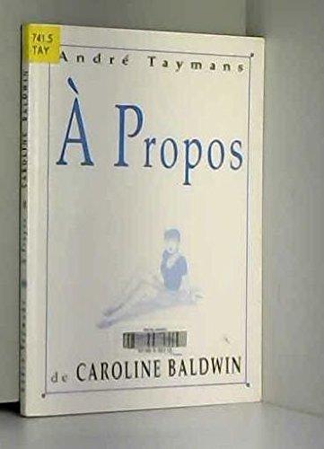 À propos de Caroline Baldwin