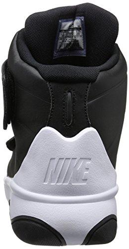 Nike Marxman, Scarpe da Basket Uomo Nero / Nero-Bianco)