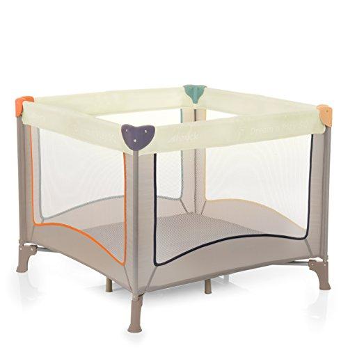 Hauck 606155 Dream'N Play Sq, box e lettino da campeggio per bambini pieghevole
