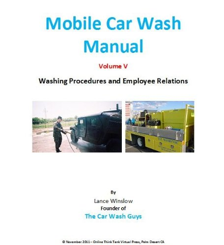 Mobile Car Wash Company Manual - Washing