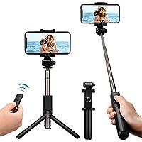 Mpow Selfie Stick,Bluetooth Selfie Stick mit Stativ,verstellbare Selfie Stange,Bluetooth Einbeinstativ mit Stabilem Stativ Ständer, Fernbedienung und Ladekabel, 360° Rotation für iPhone 8/8 Plus/7/7 Plus/Galaxy S8/Huawei/HTC/Sony usw
