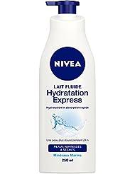 Nivea Lait Fluide Hydratation Express Peaux Normales à Sèches 250 ml - Lot de 2