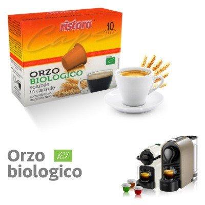 Nespresso Produkte 50Kapseln Orzo lösliche Bio Ristora