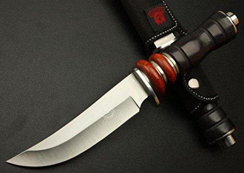 KNIFE SHOP Autodefensa Al Aire Libre con Ejército Suizo Cuchillo Multifuncional Honor FD28 Cuchillo Alta Dureza Supervivencia Cuchillo Derecho Cuchillo Plegable