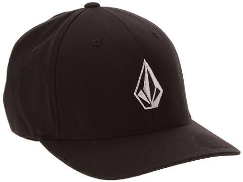 Volcom Men's Full Stone XFIT Baseball Cap, Black, Large (Manufacturer Size:Large/X-Large)