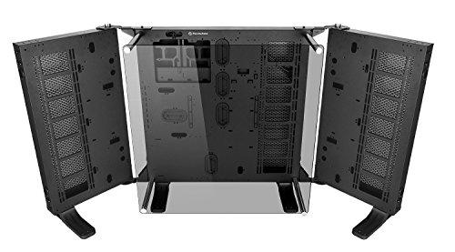 Thermaltake Core P7 TG Torre Negro - Caja de Ordenador (Torre, PC, SGCC, Vidrio Templado, ATX,EATX,Micro-ATX,Mini-ITX, Negro, 18 cm)