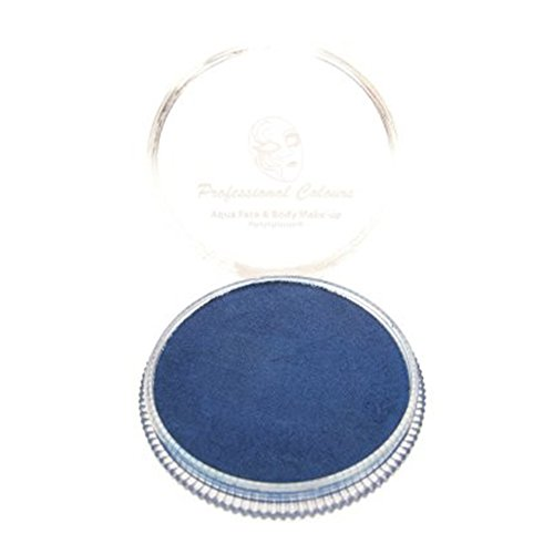 AQUA - Schminke metallic royalblau 30g