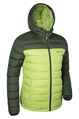 Mountain Warehouse Seasons – gefütterte Herrenjacke Limette