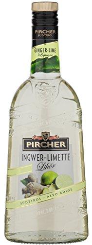 Ingwer - Limette Likör Pircher 70 cl.