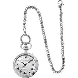 Frédérique Constant Unisex Steel Bracelet & Case Automatische silberfarbenes Zifferblatt analoge Uhr fc-700mc6pw6