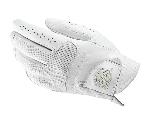 Wilson Staff WGJA00303M Femme Gant de Golf, Cuir Cabretta,...