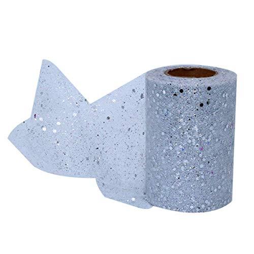 Shangwelluk - Rollo cinta tul brillante decoración