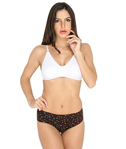 Ten on Ten Women's Bra & Panty Set  available at amazon for Rs.179