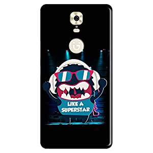 Bhishoom Designer Printed Back Case Cover for Gionee M6 (Superstar :: Cartoon :: Graphic :: Attitude :: Personality)